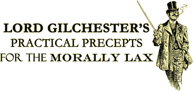 Lord Gilchester and his Dancing Precepts